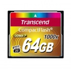 Transcend 64GB 1000x Compact flash Card 160/120 MB/s