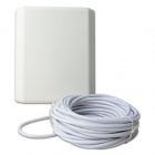 COMFAST CF-2410E-15M 2.4GHz 10dBi SMA Outdoor Directional Wi-Fi Flat Panel Antenna - White