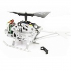 Fuqi E2301 Shockproof  2.5-CH Mini R/C Helicopter w/ IR Remote Control - Black (6 x AA)