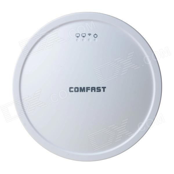 COMFAST CF-E310N 300Mbps Ceiling Wireless AP Repeater - White