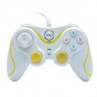 Xtreme KXD-881S USB2.0 Wired Computer Game Handle Controller - White + Yellow