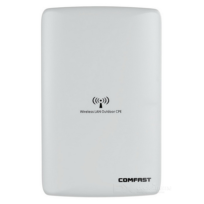 COMFAST CF-E316N 300Mbps Wireless AP / Network Bridge / Outdoor Wi-Fi CPE / Repeater - White comfast 300mbps wireless outdoor cpe atheros ar9531 chipset wi fi access point wifi repeater signal amplifier network bridge