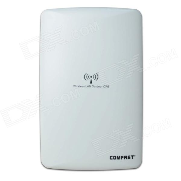 COMFAST CF-E218N 2.4GHz 150Mbps Outdoor Wi-Fi Wireless CPE/AP Router - Grayish White