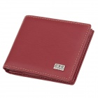 C.S.C LF24OSO Stylish Men's Leather Wallet - Red