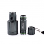 UltraFire KX-007 LED 5-Mode 600LM Retractable Zooming Flashlight w/ Strap - Celandine Green