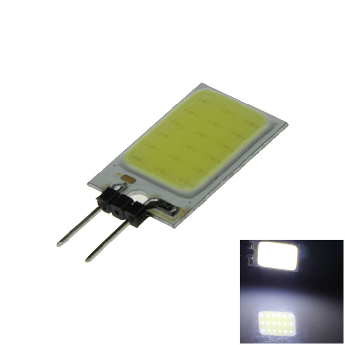 G4 1.5W 150lm 18 x COB LED White Car Instrument Light / Reading / Indicator / Roof Lamp - (12V)