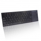 iPazzPort KP-810-25BTT Multi-system Bluetooth V3.0 Keyboard for Android / iOS - Black (2 x AAA)