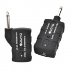 2.4G Wireless Guitar Audio Anti-interference Transmitter - Black