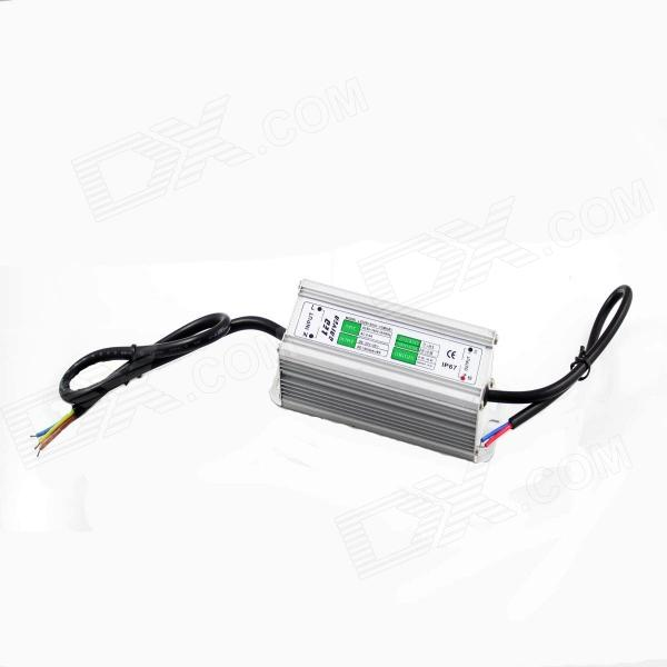 Waterproof IP67 60W LED Driver - Grey + Silver (220V / 10 Series and 6 in Parallel)