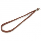 PU-1-CF Convenient Durable PU Hand Strap for Camera - Coffee