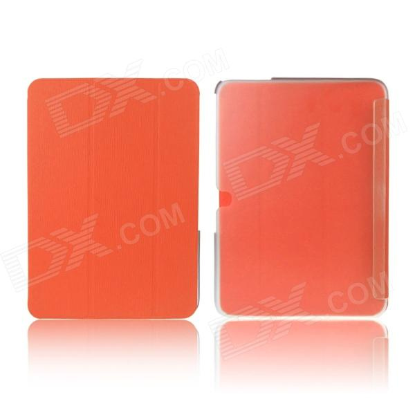 ENKAY ENK-7040 Protective PU Leather Case Cover Stand for Samsung Galaxy Tab 3 10.1 P5200 - Orange