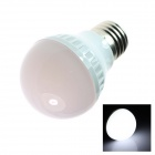 E27 4W 180LM 5500K 18-SMD 5050 LED White Light Lamp Bulb - White (AC110~120V)