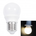 E27 3W 90LM 3000K 46-SMD 3014 LED Warm White Light Bulb - White