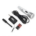 6.5 to XLR Wireless Microphone System - Silver + Black + Multi-Colored