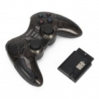 X-303 2,4 GHz trådløse dobbel Shock spillet kontrolleren For PS1 / PS2 / USB Gamepad - svart
