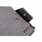 Bovi's Men's Split Cow Leather Wallet - Gray