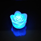 140018 plastique de style Rose romantique 1 - Colorful LED changement progressif Light - Blanc (3 x CR2032)