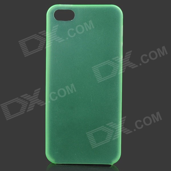 Ultrathin Protective Matte TPU Case for IPHONE 5 / 5S - Green