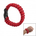 Survival Reflective Bracelet - Red