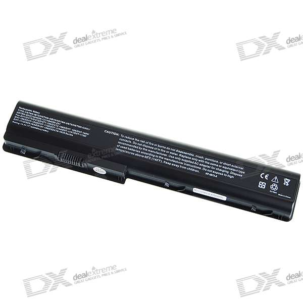 5200mAh Replacement Lithium Battery Pack for HP DV7