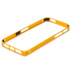 S-What Protective 0.7mm Thin Aluminum Alloy Bumper Frame Case for IPHONE 5 / 5S - Golden