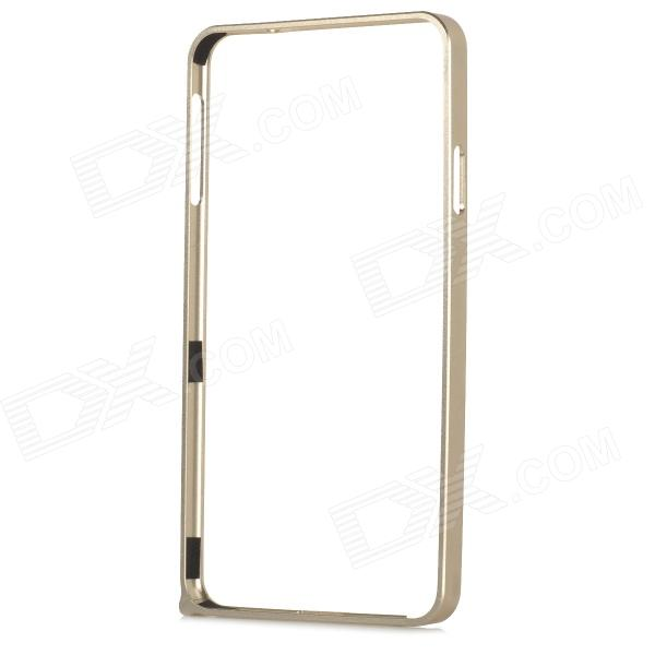 Aluminum Alloy Bumper Frame for Samsung Note 3 N9000 / N9002 / N9005 / N9006 / N9008 / N909 - Golden