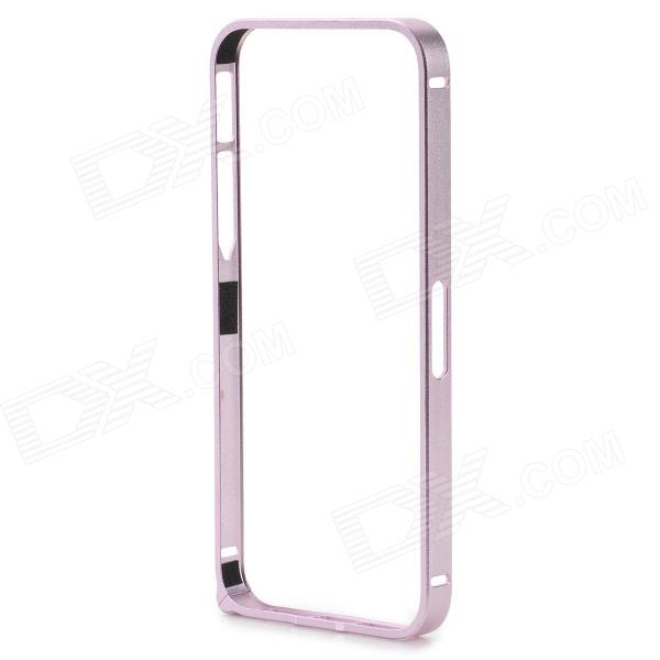 S-What Protective 0.7mm Thin Aluminum Alloy Bumper Frame Case for IPHONE 5 / 5S - Pink durable super thin aluminum alloy bumper frame case for iphone 5 5s black