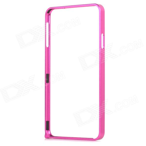 Aluminum Alloy Bumper Frame for Samsung Note 3 N9000 / N9002 / N9005 / N9006 / N9008 / N909 - DXMetal Cases<br>Color Deep Pink Brand N/A Model N/A Material Aluminum alloy Quantity 1 Piece Shade Of Color Pink Compatible Models Samsung Note 3 N9000 / N9002 / N9005 / N9006 / N9008 / N909 Packing List 1 x Bumper frame 1 x Screwdriver 2 x Screws<br>