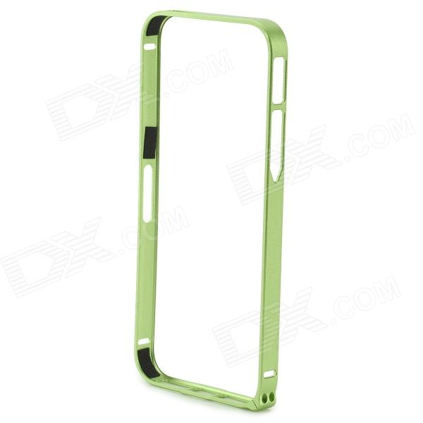 S-What Protective 0.7mm Thin Aluminum Alloy Bumper Frame Case for IPHONE 5 / 5S - Green durable super thin aluminum alloy bumper frame case for iphone 5 5s black