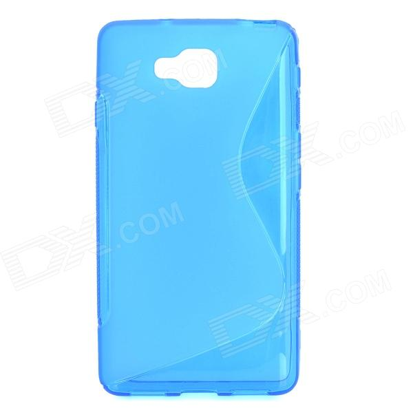 S Style Anti-Slip Protective TPU Back Case for LG Optimus L9 II D605 - Blue itech d605 b