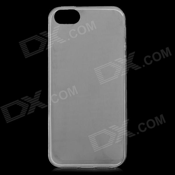 S-What 0.3mm Thin Protective TPU Back Case for IPHONE 5 / 5S -  White