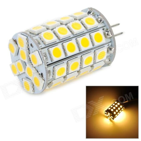 lexing LX-G4-05 G4 3~3.8W 300lm 3500K 49-5050 SMD LED Warm White Light lamp (DC 12~24V) lexing lx r7s 2 5w 410lm 7000k 12 5730 smd white light project lamp beige silver ac 85 265v