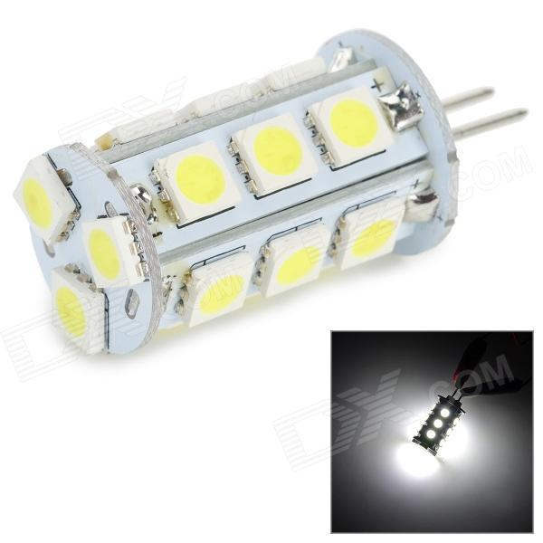 lexing LX-G4-02 G4 1.5~2.5W 180lm 7000K 18-5050 SMD LED White Light lamp (DC 10~30V)