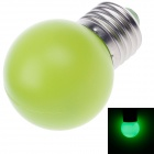 D400007 BR Elite E27 1W 90lm 560nm 4-LED Green Light LED Lamp Bulb - Green (AC 220~250V / 50/60Hz)
