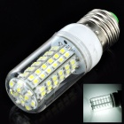 E27 5.5W 580lm 96-SMD 3528 LED Cool White Light Corn Bulb (220~240V)