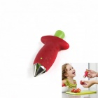 Convenient Fruit Coring Device Tool - Red + Green