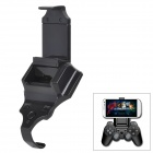 Smart Clip Adjustable Plastic Holder for Cellphones / PS3 Controller - Black
