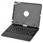 360 Degree Rotatable Cover Bluetooth v3.0 64-Key Keyboard for IPAD AIR - Black