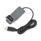 ABS USB 2.0 Extension Cable w/ USB Adapter - Ash Black (300m)