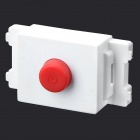 DIY 128 FC Optical Fiber Connector Module - White