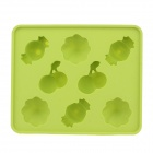 Cute Candy Style Silicone Ice Mold Ice Maker Mold - Green