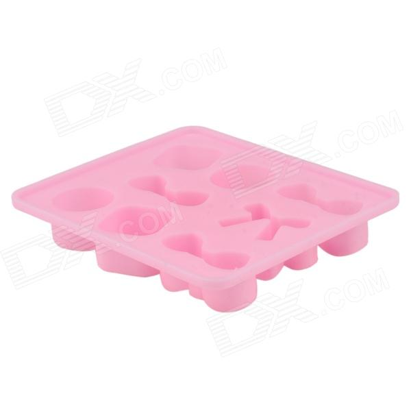 Cute Bow Tie Silicone Ice Mold Ice Maker Mold - Pink - Free Shipping - DealExtreme