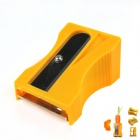 Convenient Pencil Sharpener Style Carrot Planing Tool - Orange + Silver