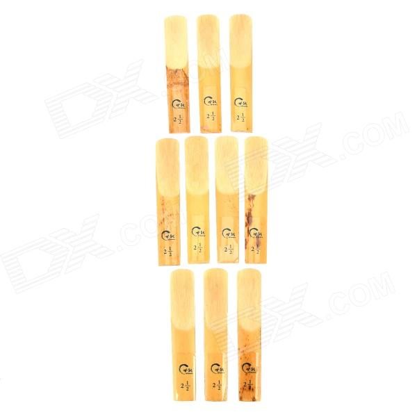 Cut Bb Clarinet Reeds (10 PCS) beautiful wooden bassoon reeds case hold 10 pcs reeds strong