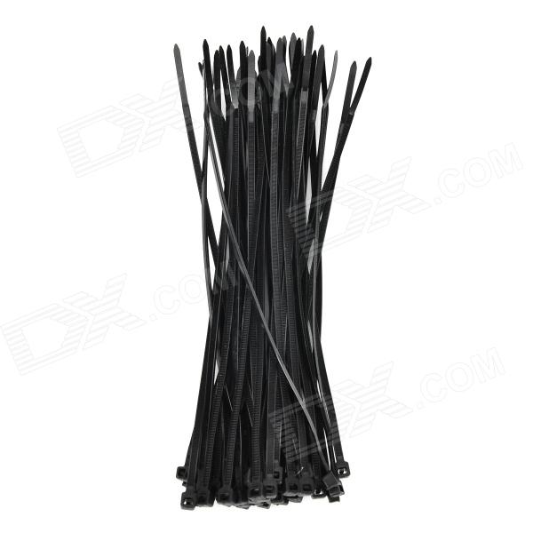 Y-567 Nylon Cable Ties - Black (50 PCS)