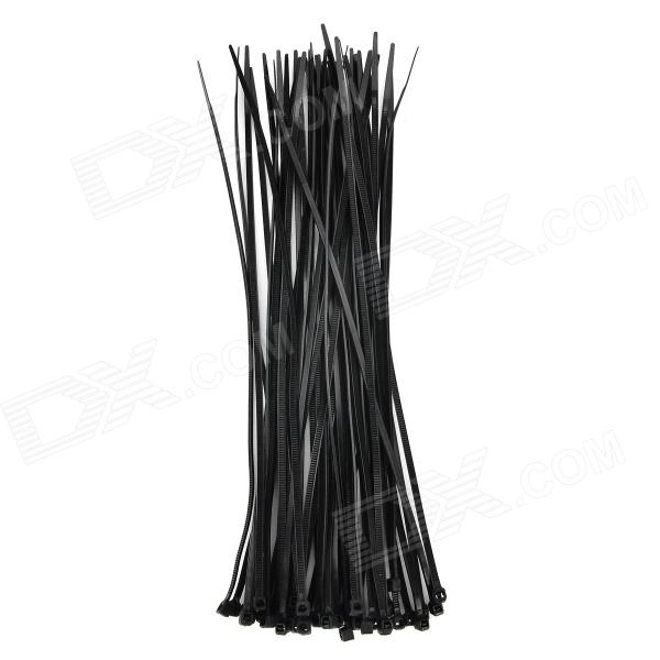 Y-568 Nylon Cable Ties - Black (50 PCS)