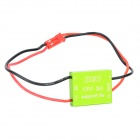 BEC 3A 12V CNC Shell Brushless Panel de control PTZ Set + Sensor para FPV 1.2G 5,8 g - verde + Colorful