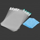 PET Matte Protective Screen Protector for Samsung Galaxy Tab 3 Lite T110 - Transparent (5PCS)