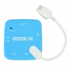 USB 3.0 OTG USB HUB + Multi-in-1 Card Reader