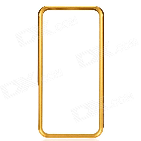 Zomgo Stylish Protective Aluminum Alloy Bumper Case for IPHONE 5 / 5S - Champagne Gold protective aluminum alloy bumper frame case for iphone 5 rose gold